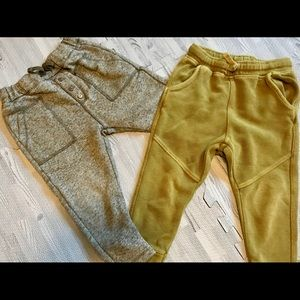 Two pair of Zara joggers